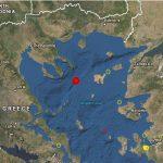 Ισχυρός σεισμός 5,2 Ρίχτερ ανοικτά της Χαλκιδικής