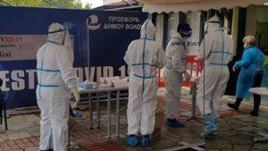 Νέος γύρος rapid test από τον Δήμο Βόλου