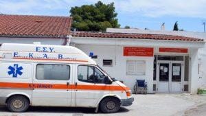 Αναβαθμίζεται το ΕΚΑΒ Σκιάθου με προσωπικό και ένα μικρό ασθενοφόρο