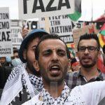 Πορεία στην ισραηλινή πρεσβεία για την Παλαιστίνη
