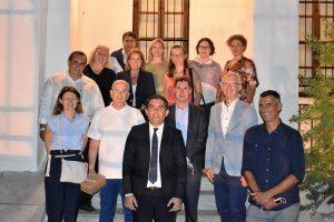 Συνάντηση πρέσβεων διοργάνωσε ο Δήμος Σκιάθου